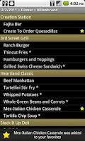 Screenshot of Purdue Food Court Menu