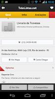 Screenshot of TeleListas.net Mobile