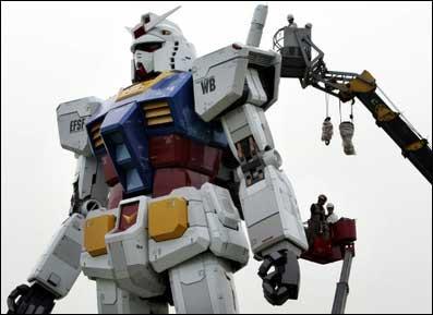 Gundam di Keramaian