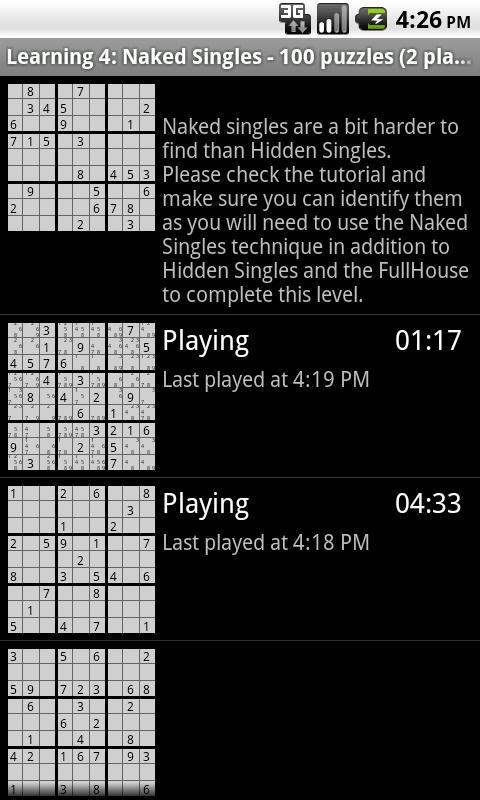 Sudoku Learning- screenshot