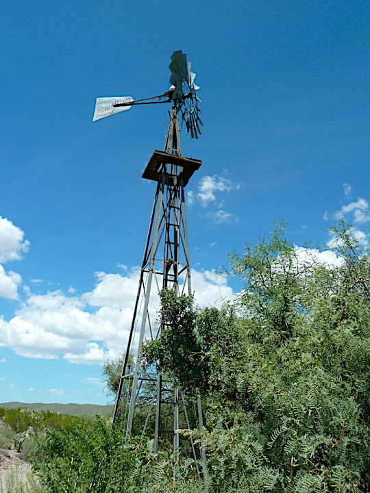 Windmill Water Pump