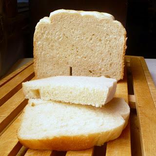Bread Machine Semolina White Bread.