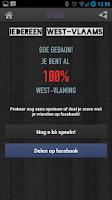 Screenshot of Iedereen West-Vlaams