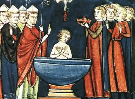 Baznīctēvi par zīdaiņu kristīšanu