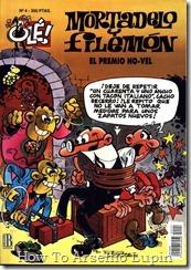 P00004 - Mortadelo y Filemon  - El premio no-vel.howtoarsenio.blogspot.com #4