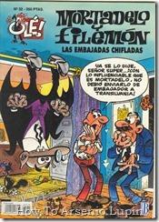 P00032 - Mortadelo y Filemon  - Las embajadas chifladas.howtoarsenio.blogspot.com #32