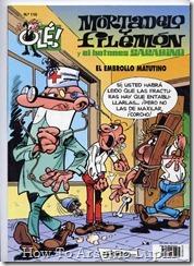 P00110 - Mortadelo y Filemon  - El embrollo matutino.howtoarsenio.blogspot.com #110