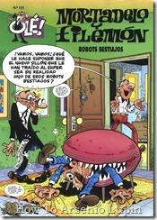 P00121 - Mortadelo y Filemon  - Robots bestiajos.howtoarsenio.blogspot.com #121