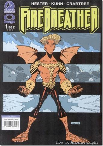 Archivo Comics Firebreather Multiuniverso Heroes