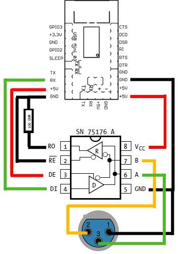 dmx serial write arduino