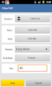 ClienTAP Appointment & Payment screenshot 2