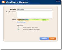 Blogger   Saungweb   Configure Header