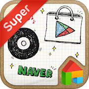 App DrawingNote LINELauncher theme APK for Windows Phone