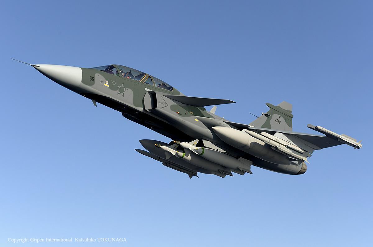 Saab reveals full Gripen E design, cost savings | SpaceBattles Forums