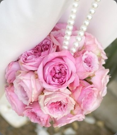 pink-rose-pomander-dae myweddingflowerideas.com uk