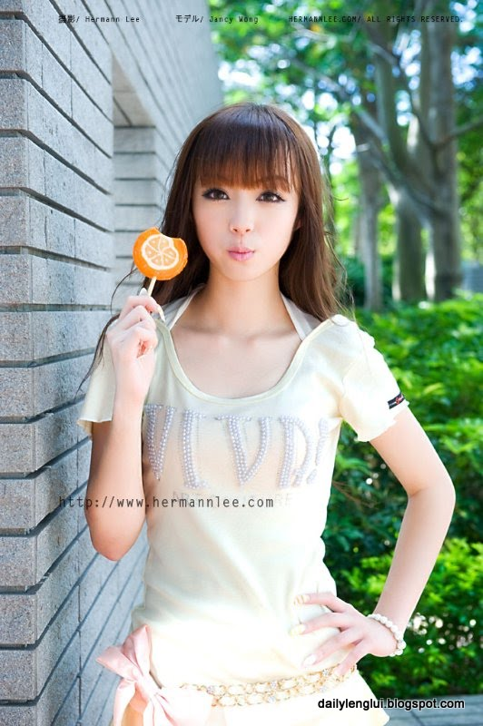 Jancy Wong (黃詩思) from Hong Kong - Lenglui #81   Pretty ...