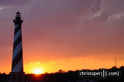 This Is Christoperj Com Road2002 Nc Sunset At The