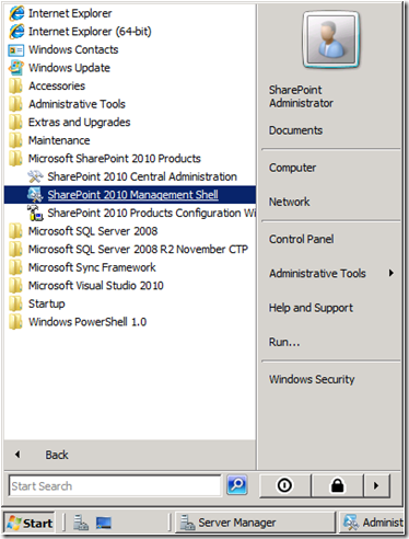 SharePoint 2010: STSADM and PowerShell – SharePoint Automation