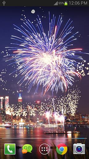 New Year Fireworks LWP (PRO) 1.3.1 screenshots 2