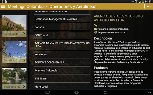 Meetings Colombia- screenshot thumbnail