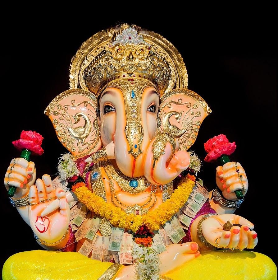 Ganpati by Shobin George - Artistic Objects Other Objects ( ganpati, idol )