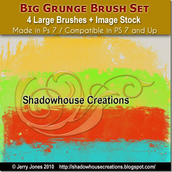 Big Grunge Brush Set