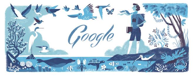 Rachel Louise Carson's 107th Birthday