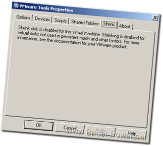 vmware shrink