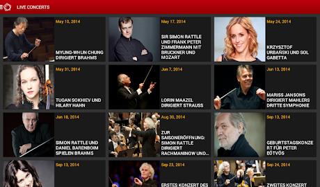 Digital Concert Hall Screenshot 15