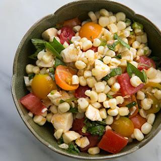 Caprese Corn Salad.