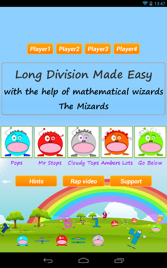 Long Division Games Pro- screenshot