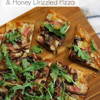 Honey Ham Flatbread Pizza Recipe