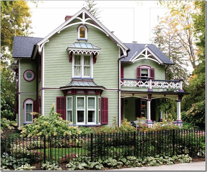 Design Addict Mom: Not Your Typical Victorian Home