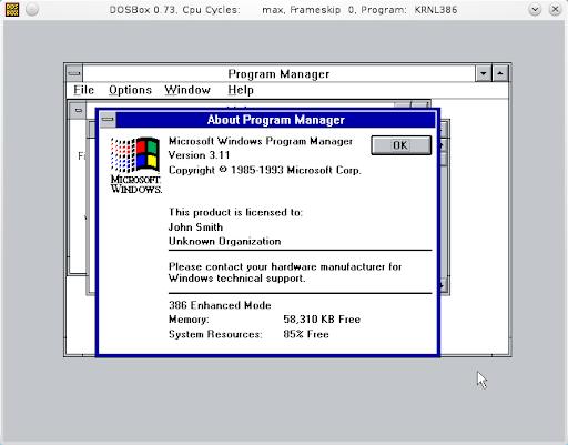 Install Windows 3 1 Inside Dosbox - Retro software guide