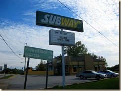 Subway at McCormick