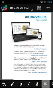 OfficeSuite Pro 7 (PDF& Fonts) - screenshot thumbnail