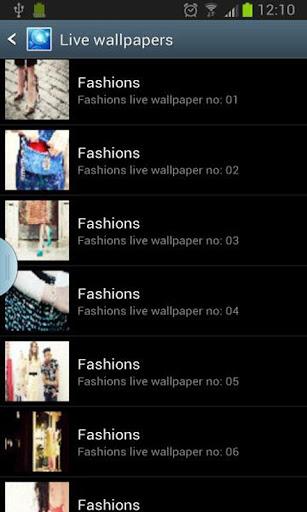 fashion live wallpaper