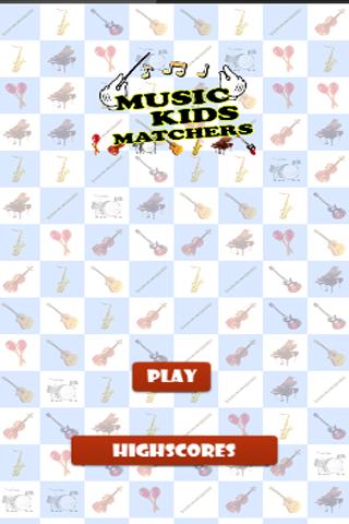 Music Kids Matchers