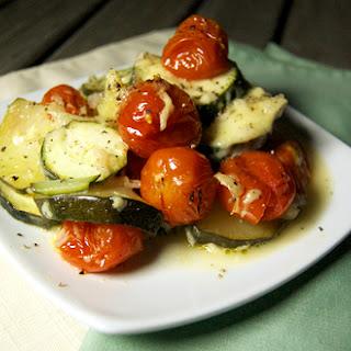 Zucchini & Tomato Gratin Recipe
