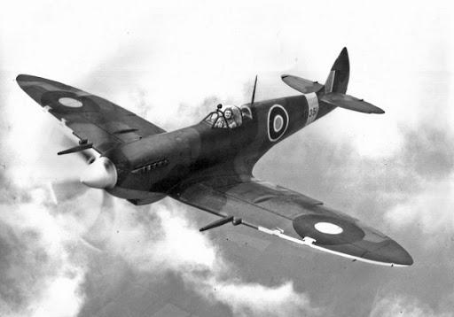 668490d773f Spitfire Mk VIII during World War II .