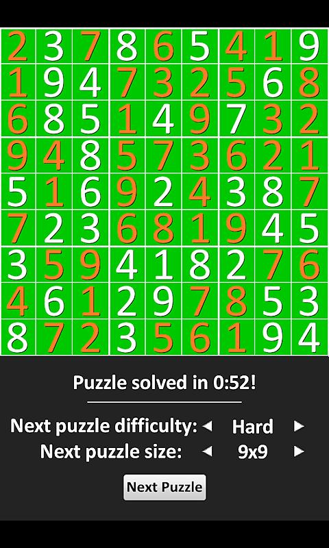 Sudoku Epic - screenshot