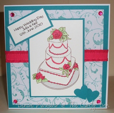 stamptacular DT - wedding