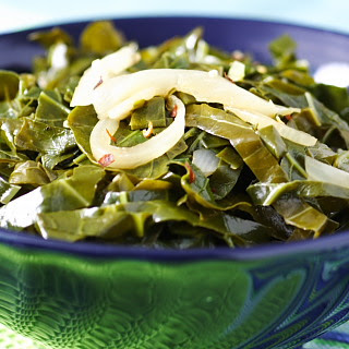 Quick and Delicious Collards.