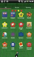 Screenshot of Flower GO Launcher EX Theme