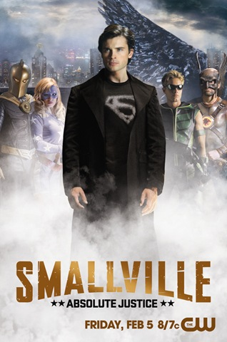 SMALLVILLE: Absolute Justice poster via TwitPic [click to enlarge]