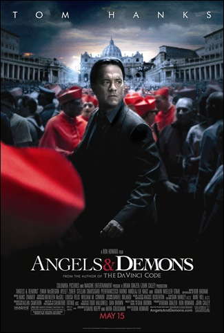 Angels & Demons theatrical poster [click to enlarge]