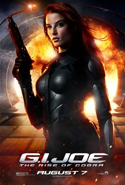 G.I. Joe: The Rise of Cobra - theatrical poster [click to enlarge]