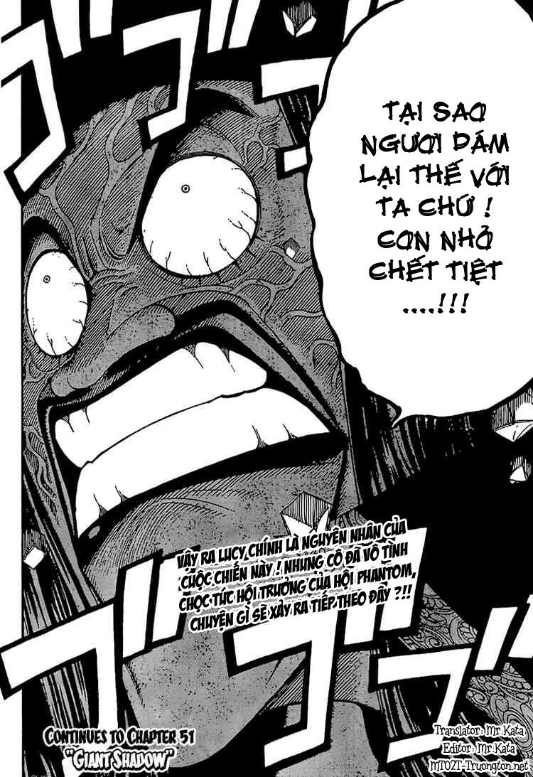 Fairy Tail Chap 50
