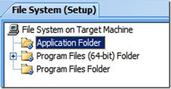 x64 seploy project application folder