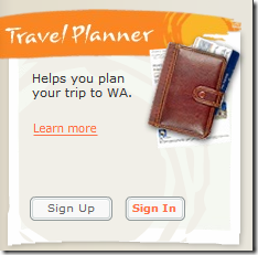 WACOM Travel Planner